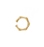 8 Other Reasons x Jill Jacobs Troy earcuff gold