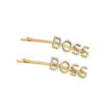 8 Other Reason Boss hair clip gold