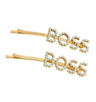 8 Andere Gründe Boss Haarspange Gold