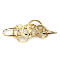 8 Other Reason Lauren hair clip gold