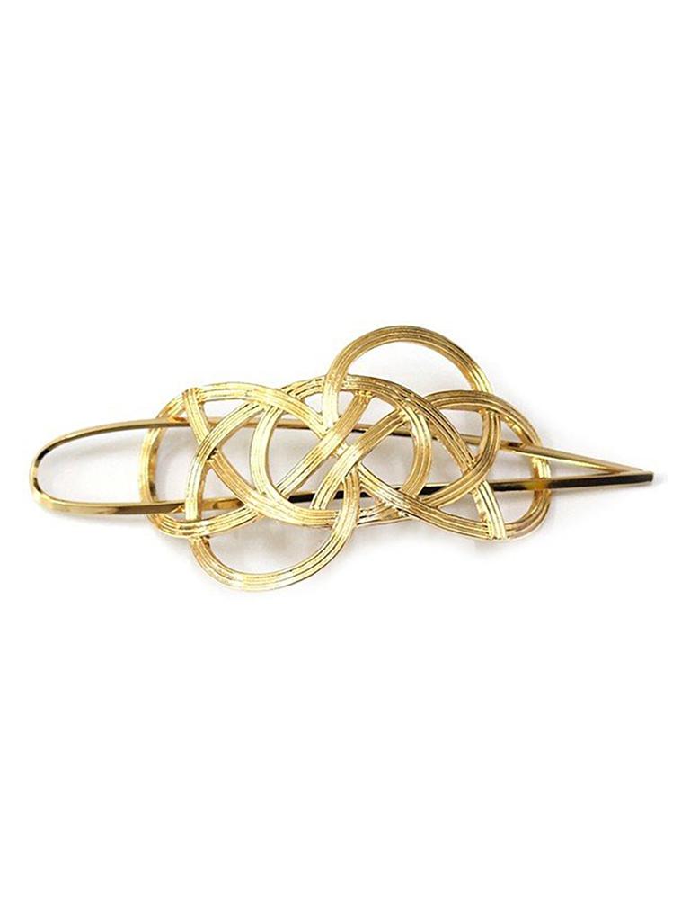 8 Other Reason Lauren hair clip gold