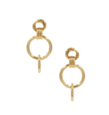 8 Other Reasons x Jill Jacobs earrings with rings gold