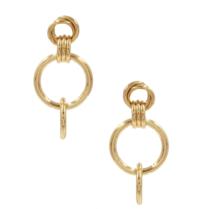 8 Other Reason 8 weitere Gründe x Jill Jacobs Ohrringe mit goldenen Ringen