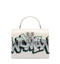 OFF-WHITE Jitney 2.8 with graffiti print white