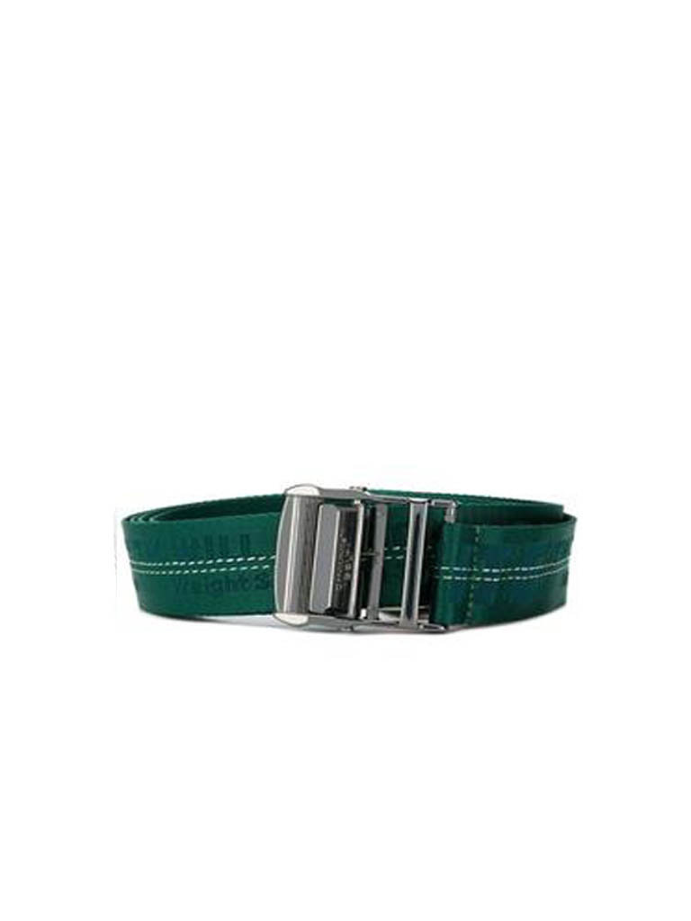 Off-White OFF-WHITE industrial belt with logo green