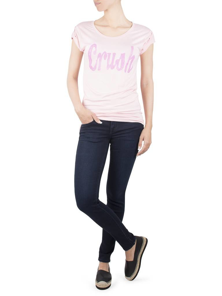 VLVT VLVT Crush t-shirt roze