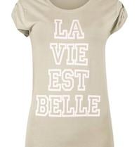 VLVT VLVT La vie est belle T-Shirt grün