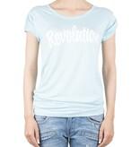VLVT VLVT Revolution t-shirt lichtblauw