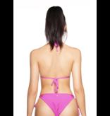 LA Sisters Basic Triangel Bikini Fuchsia