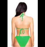 La Sisters LA Sisters Basic Triangel Bikini grün