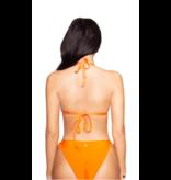 La Sisters LA Sisters basic triangle bikini orange