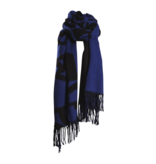 Marithé François Girbaud Marithé François Girbaud Signature scarf blue black