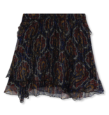 Alix the Label rok met  volants paisley print