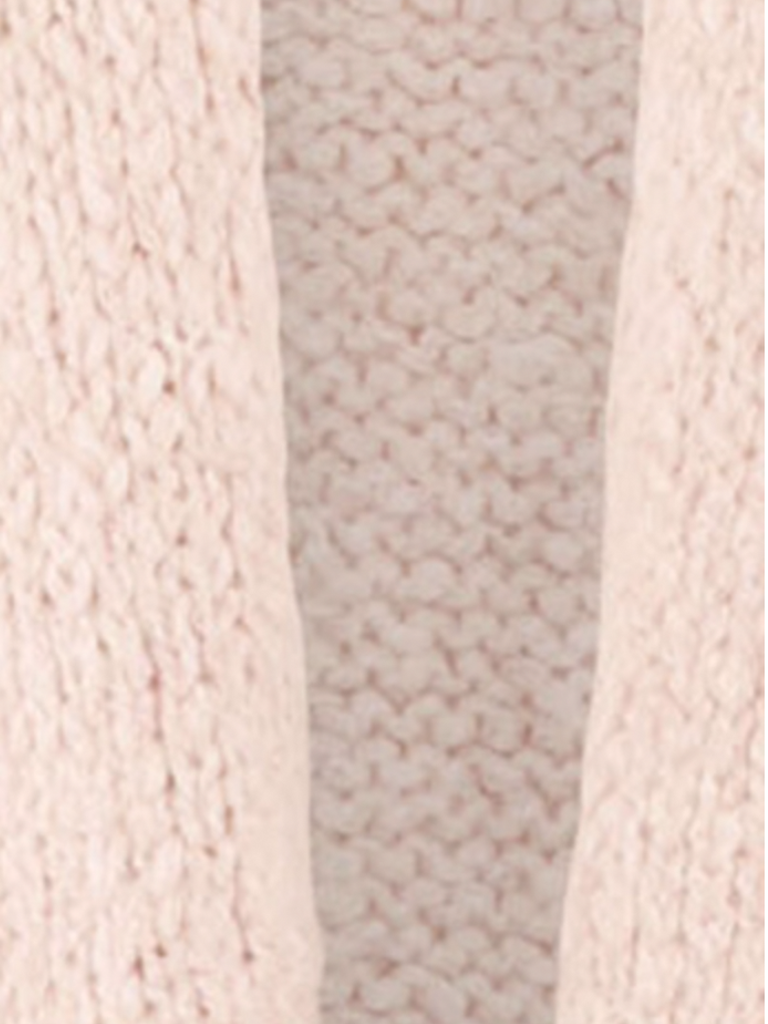 Paul x Claire knitted cardigan with pink on the back