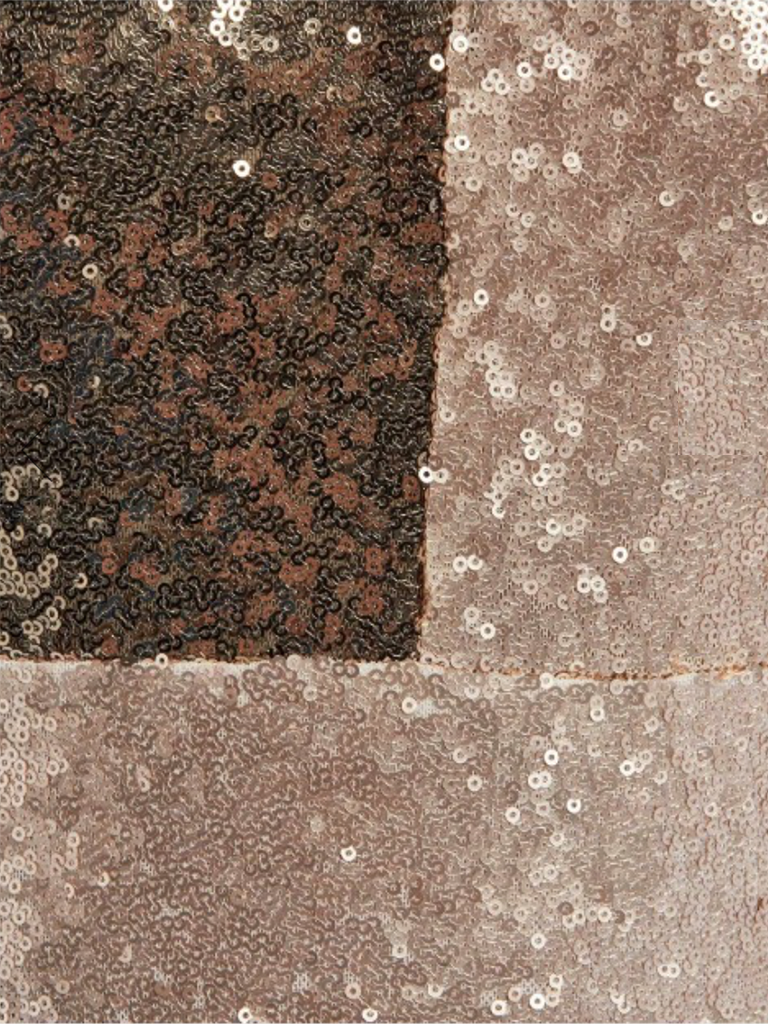 Forever Unique Forever Unique Jana jumpsuit with flared pants khaki gold