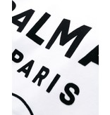 Balmain Balmain T-shirt with velvet logo white