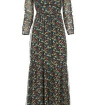 Freebird Freebird Melody maxi dress with multicolor print