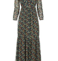 Freebird Melody maxi jurk met print multicolor