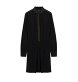 Alix the Label jurk met lurex details zwart