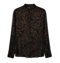 Alix The Label Alix the Label Tiger blouse black
