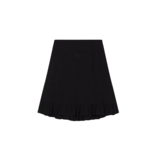 Alix the Label skirt with ruffles black