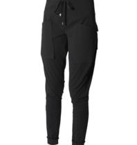 Marithé François Girbaud Marithé François Girbaud Sportchaps broek met zakken zwart