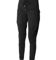 Marithé François Girbaud Sports pants with black pockets