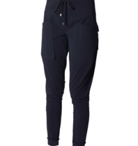 Marithé François Girbaud Sports pants with blue pockets