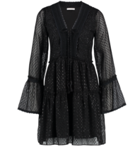 Freebird Freebird Vlada dress with black details