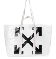 Off-White Arrows Tote Bag white
