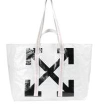 Off-White Off-White Arrows Tote Bag white