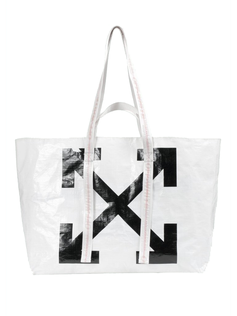 Off-White Off-White Arrows Tote Bag weiß