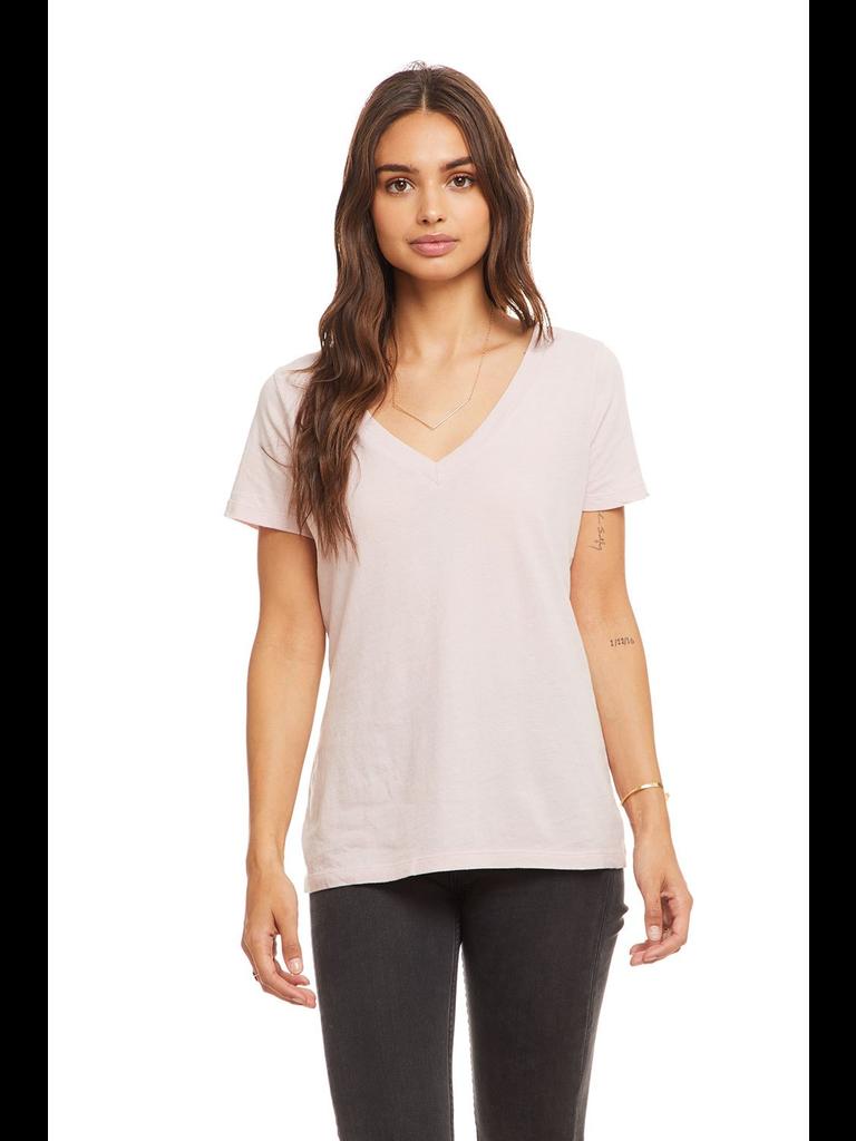 Chaser T-shirt met korte mouwen en v-hals roze