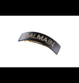 Balmain Hair Couture Balmain Hair Couture barrette met logo zwart