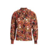 Britt Sisseck Britt Sisseck Sarah blouse with ruffles and bow multicolor