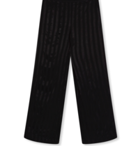 Alix the Label loose fitted trousers with stripe details black