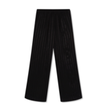 Alix The Label Alix the Label losvallend pantalon met streep details zwart