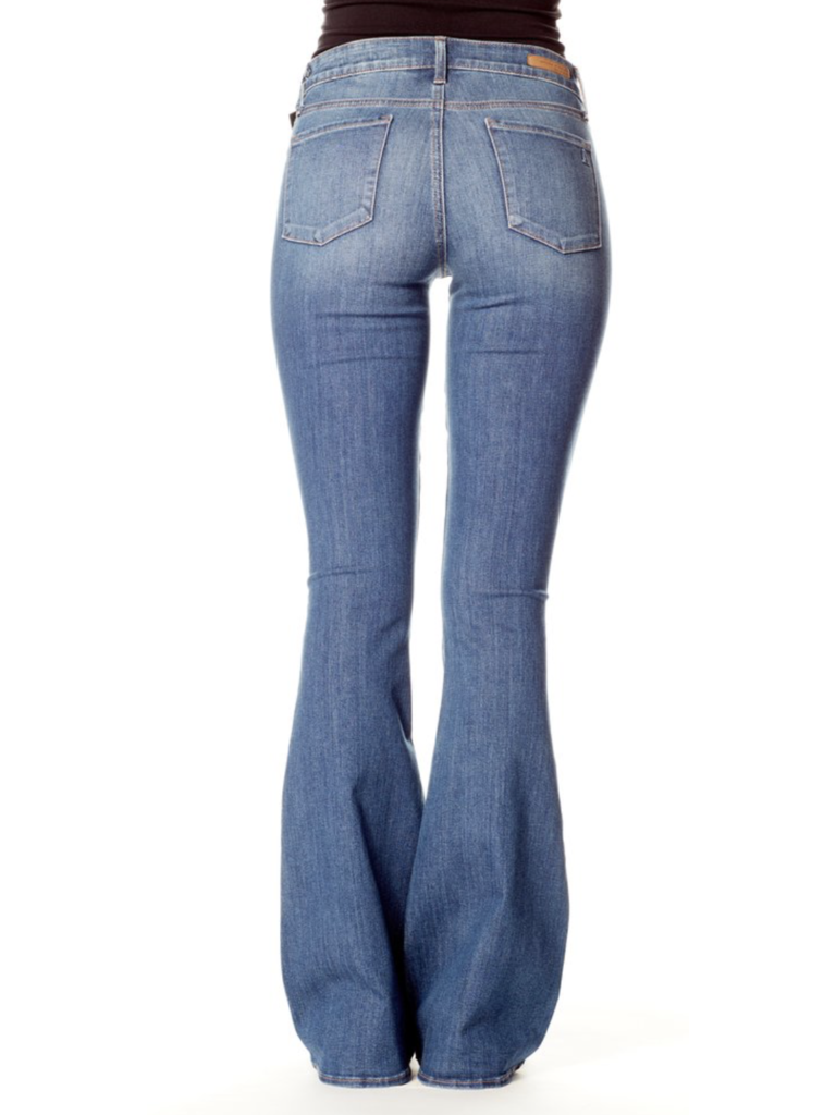 Articles of Society Faith flared jeans Snowmass blue