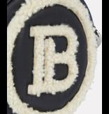 Balmain Balmain sheerling Mini Logo Umhängetasche schwarz
