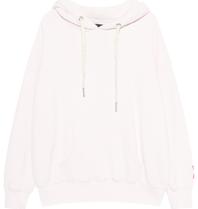 Paul x  Claire oversized hoodie met tekst wit