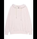 Paul x  Claire oversized hoodie met tekst nude