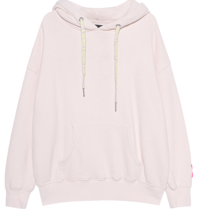 Paul x Claire Paul x Claire oversized hoodie with text nude