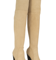 Also Jamie Business Overknee Stiefel beige