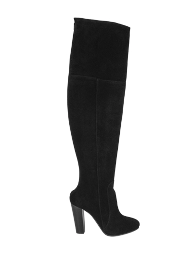 So Jamie business thigh high boots black