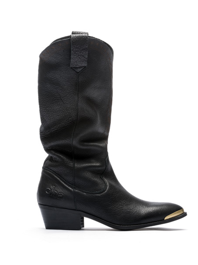 CHA CHA Fearless cowboy boots zwart