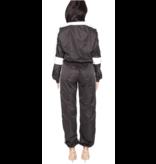 LA Sisters Hologram Shell Tracksuit black