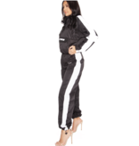 LA Sisters Hologram Shell Trainingsanzug schwarz
