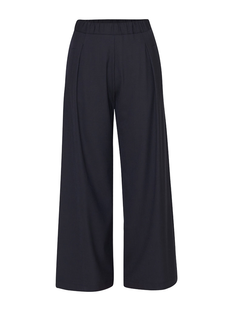 Semicouture Semicouture loose fitted trousers dark blue