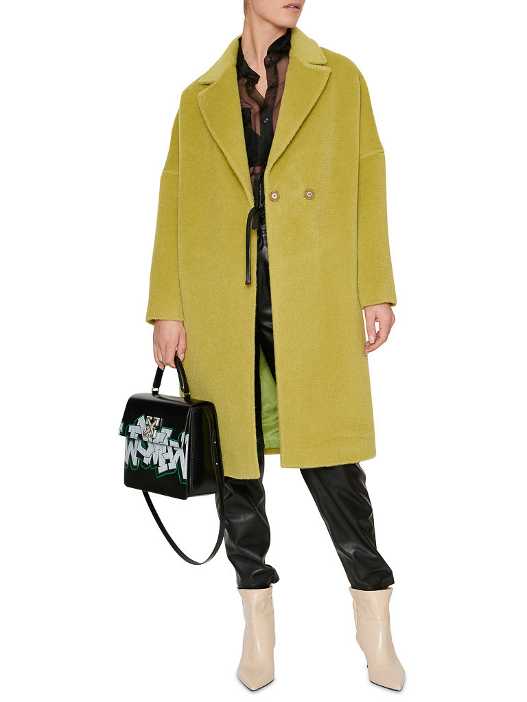 Acide mary long jacket light green