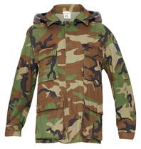 Semicouture Semicouture camouflage jas met ruitenprint multicolor